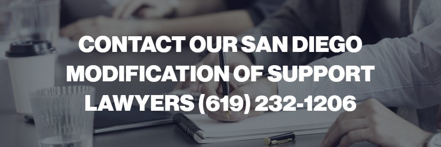 Support modification attorneys in San Diego